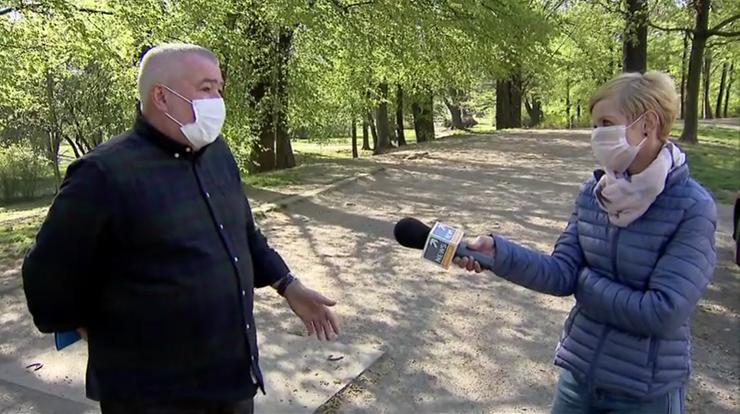 10 tys. zł kary dla szefa sanepidu. Wszedł do parku bez maseczki