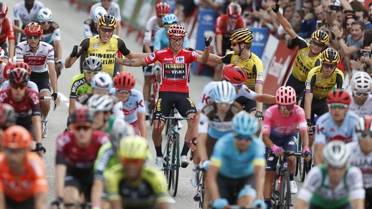 Vuelta a Espana: Bez kibiców na górskich etapach