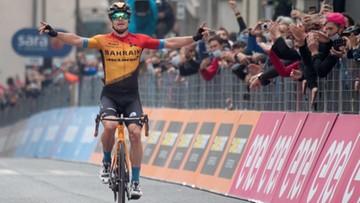 Giro d'Italia: Zabrakło centymetrów. Polak tuż za podium 16. etapu