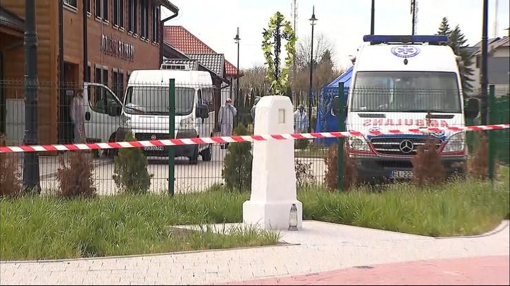 Ewakuacja DPS w Kleszczowie. Zakażonych ponad 50 osób