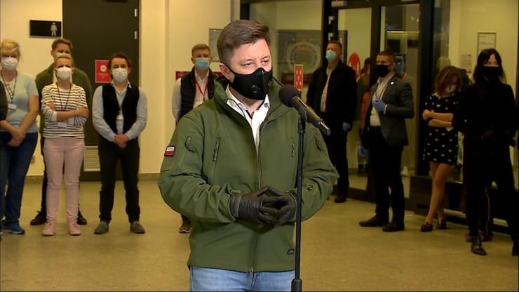 Dworczyk na Stadionie Narodowym: Otwieramy pierwszy szpital tymczasowy