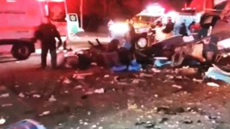 Meksyk: co najmniej 12 osób zginęło w wypadku na autostradzie