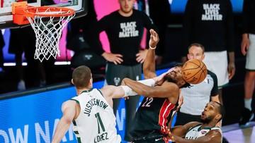 NBA: Najwyżej rozstawieni Milwaukee Bucks wyeliminowani