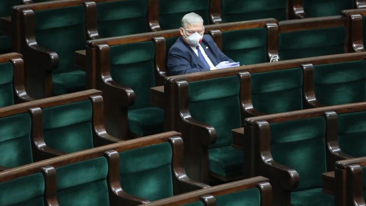 Wielkie środki ostrożności podczas posiedzenia Sejmu