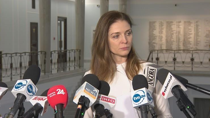 """""""Nieładne"""", """"półzdanie"""". Mucha skomentowała słowa Schetyny o Kidawie-Błońskiej"""