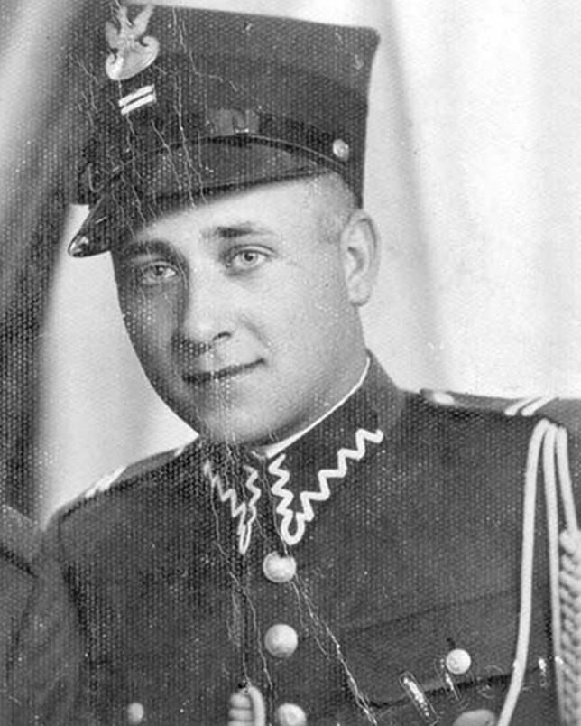 Józef Franczak jako kapral żandarmerii