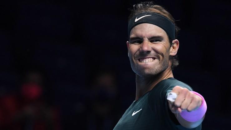 ATP Finals: Rafael Nadal w półfinale. Broniący tytułu Stefanos Tsitsipas poza turniejem