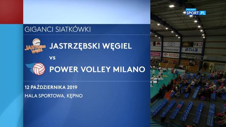 Jastrzębski Węgiel – Power Volley Milano 3:0. Skrót meczu
