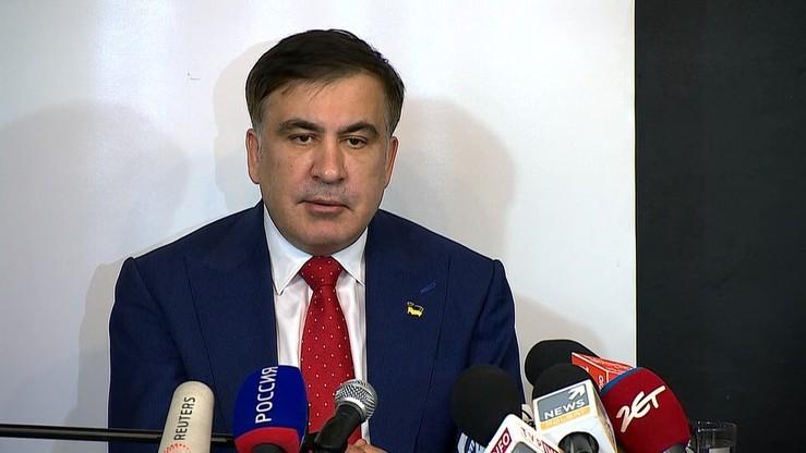 Saakaszwili wróci do Gruzji? Ma być kandydatem na premiera
