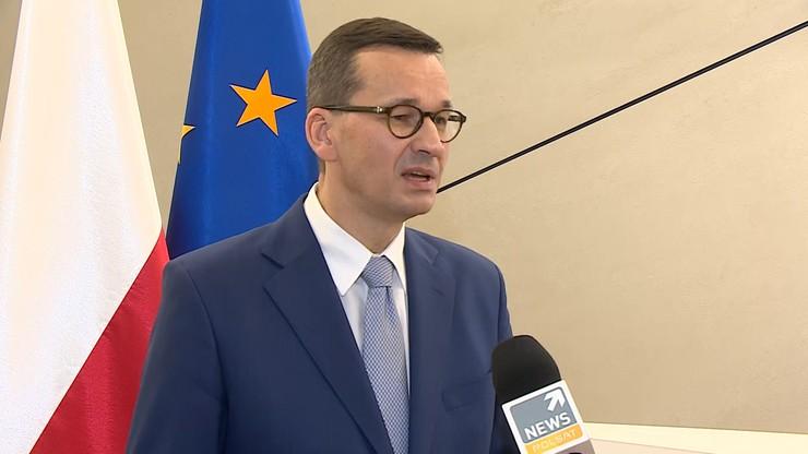 Premier dla Polsat News: mamy plan dla demokratycznej Białorusi, reżimowi nie chcemy pomagać