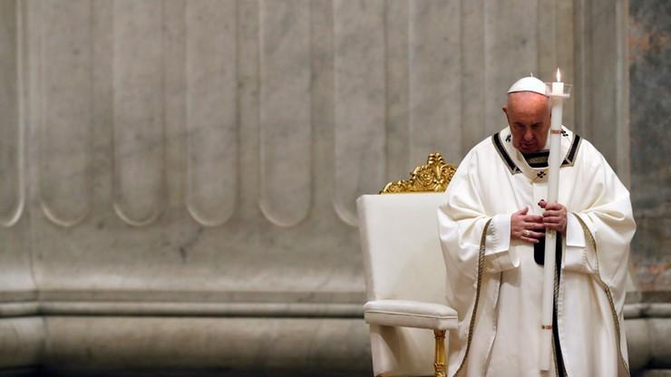 """Wielka Sobota w Watykanie. """"To dla nas najciemniejsza godzina"""""""