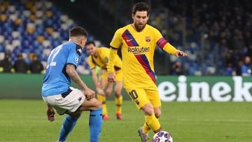 Liga Mistrzów: Napoli i Barcelona na remis. Asysta Zielińskiego