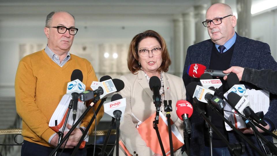 Małgorzata Kidawa-Błońska jest kandydatką Koalicji Obywatelskiej w wyborach prezydenckich