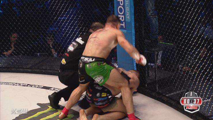 KSW 52: Michalski znokautował Odzimkowskiego po krwawej walce!
