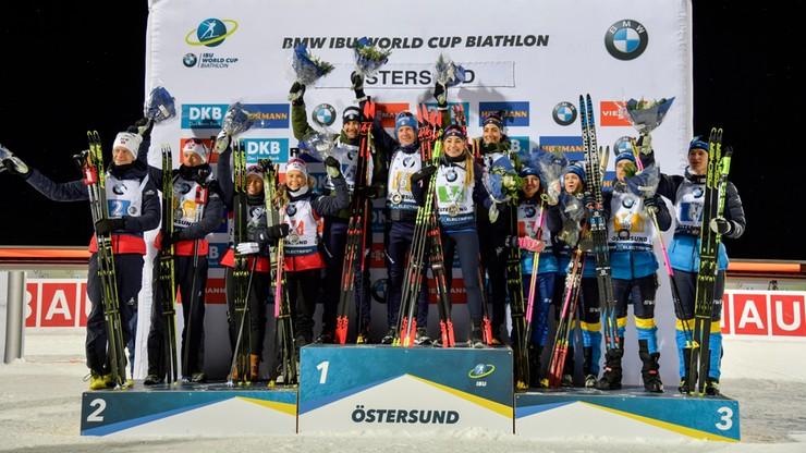 PŚ w biathlonie: Kolejna wygrana Boe, Polacy daleko