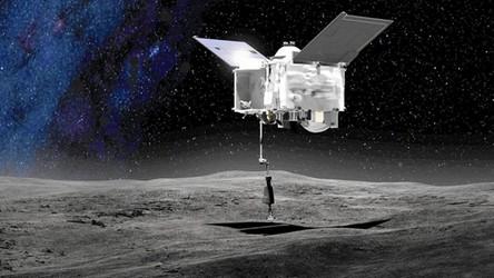 Historyczna misja NASA zakończona sukcesem. Sonda pobrała próbkę z planetoidy [FILM]