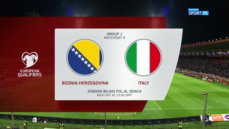 Bośnia i Hercegowina - Włochy 0:3. Skrót meczu