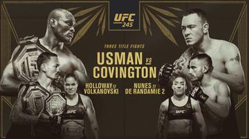 UFC 245: Relacja na żywo