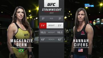 UFC: Mackenzie Dern - Hannah Cifers. Skrót walki