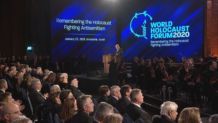 """""""Bramy piekła zostały zniszczone zbyt późno"""". Światowe Forum Holokaustu w Jerozolimie"""