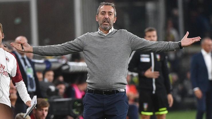 Giampaolo nie jest już trenerem Milanu