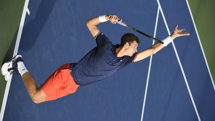 ATP w Szanghaju: Hurkacz w drugiej rundzie po zaciętej walce