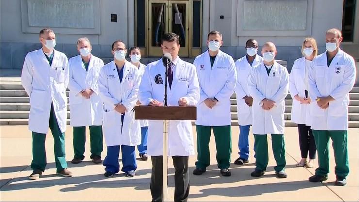 Donald Trump zakażony koronawirusem. Lekarze ujawnili informacje o stanie zdrowia prezydenta USA