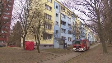 Pożar mieszkania w Łodzi. Nie żyje 60-letnia kobieta, trzy osoby w szpitalu