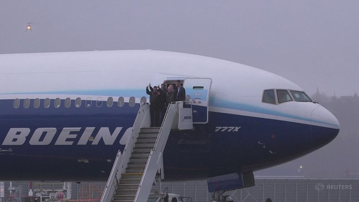 Najdłuższy samolot pasażerski na świecie. Boeing 777x po pierwszym locie