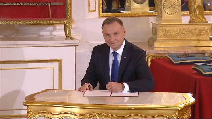 Andrzej Duda złożył przysięgę i rozpoczął drugą kadencję. Przyjął też zwierzchnictwo nad wojskiem