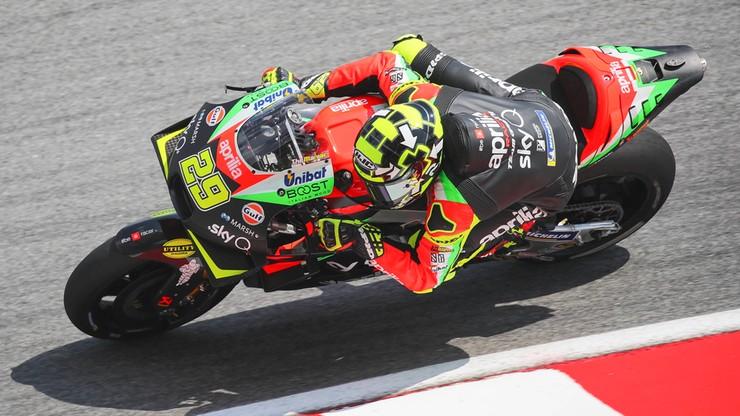 Włoski motocyklista zawieszony za doping