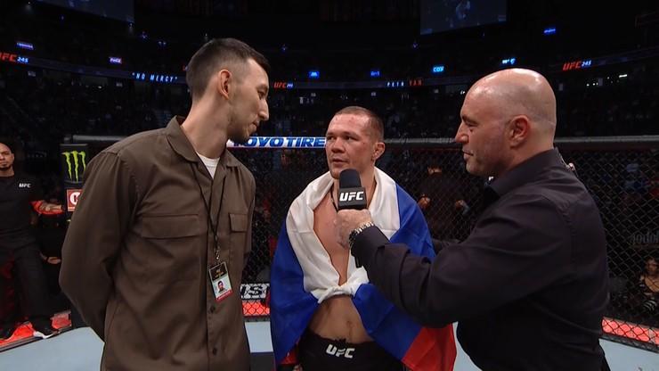 UFC 245: Zabawne wyzwanie do walki mistrza zasługą... tłumacza? (WIDEO)