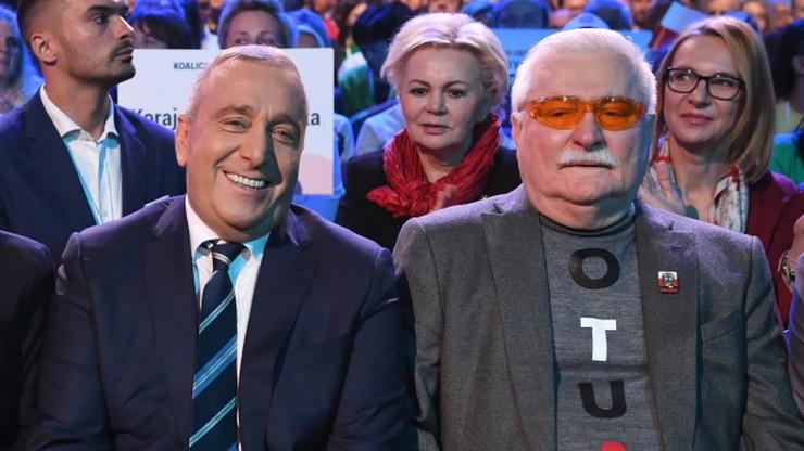"""Wałęsa ponownie deklaruje poparcie dla PO. """"Widząc problemy PSL chciałem im pomóc"""""""