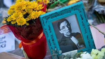 Ostatnie życzenie sędzi Ginsburg. Spór o następcę zaczął się nazajutrz po jej śmierci