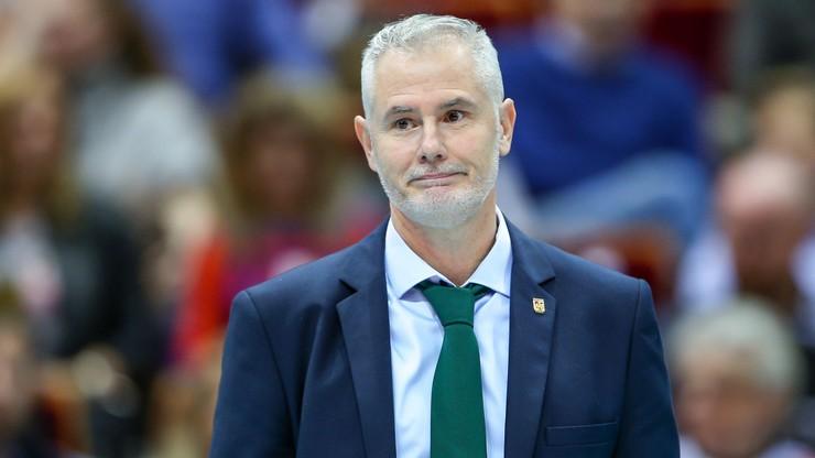 PlusLiga: Trener Indykpolu AZS Olsztyn zrezygnował