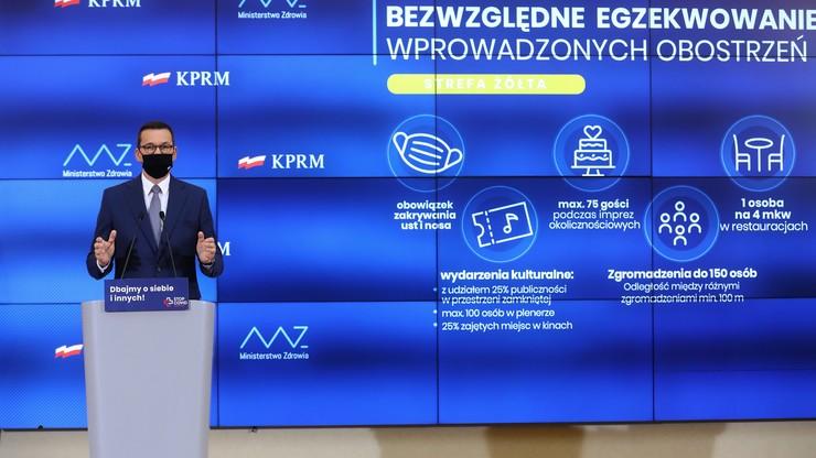 Premier Mateusz Morawiecki: przywracamy godziny dla seniorów - Polsat News