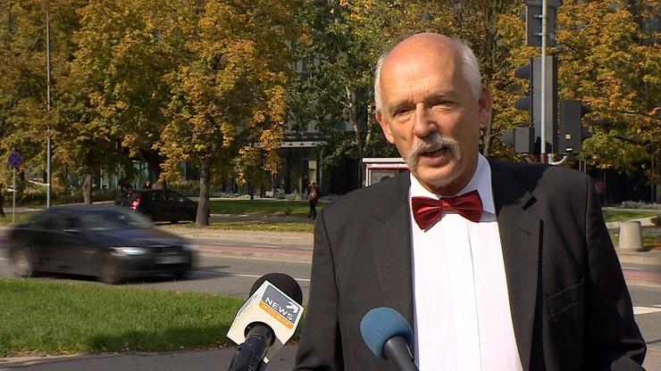 """Korwin-Mikke wzywa do wsparcia Łukaszenki """"broniącego niepodległości Białorusi"""""""