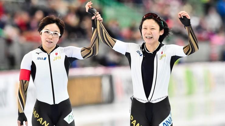 MŚ w łyżwiarstwie szybkim: Dominacja Japonii w wieloboju sprinterskim