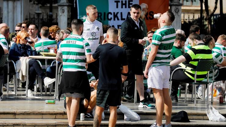 Liga Europy: Dwóch kibiców Celticu ugodzonych nożem w Rzymie