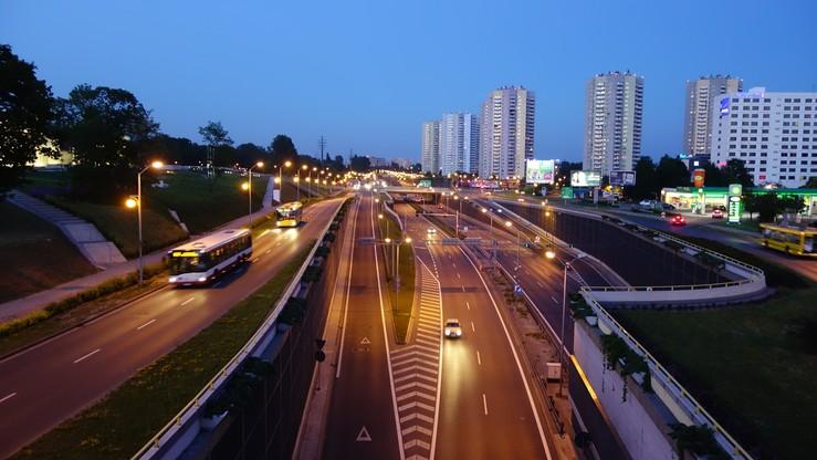 Po kolizjach, zakorkowana trasa S86 od Katowic do Sosnowca