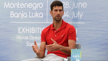 Wielu tenisistów krytykuje sprawę Adria Tour. Djoković wyraził skruchę