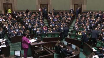 Posłowie KO zakłócili prezentację kandydatury Pawłowicz