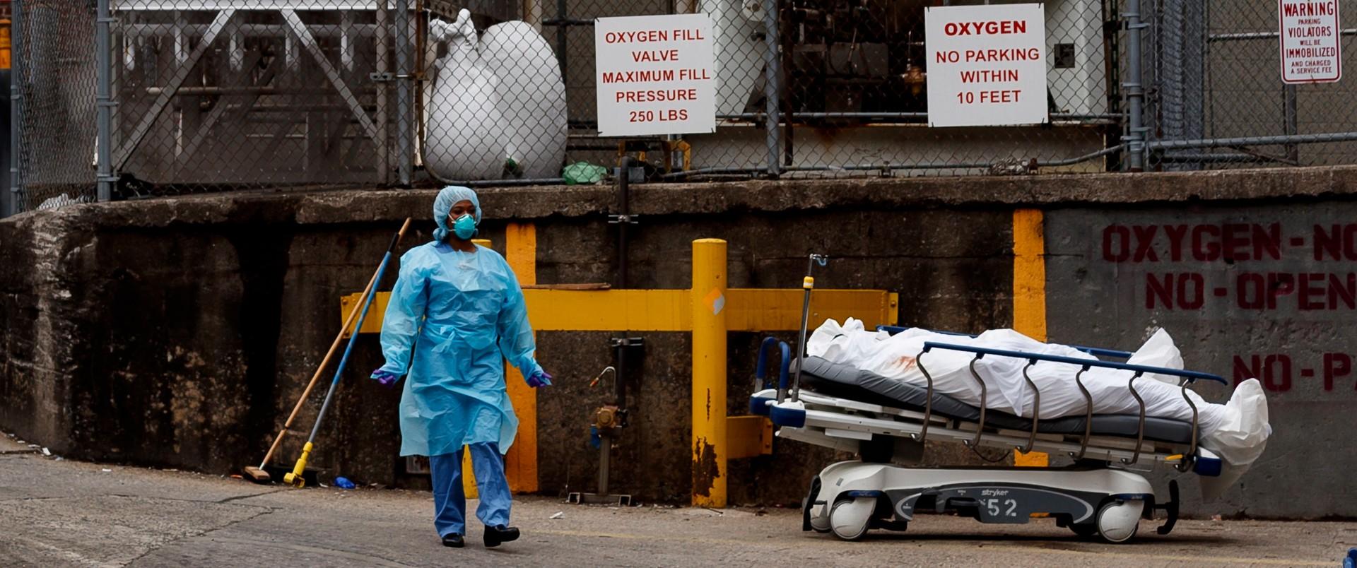 Szpitale w Nowym Jorku nie mają gdzie przechowywać zwłok osób, które zmarły z powodu koronawirusa