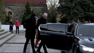 Wicepremier Gowin w rządowej limuzynie, która zderzyła się z ukraińskim tirem k. Mławy