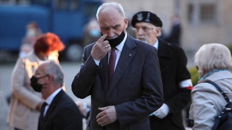 """Pozew przeciwko Macierewiczowi. Sprawa dotyczy zarzutów o """"ukrywanie przestępców"""""""
