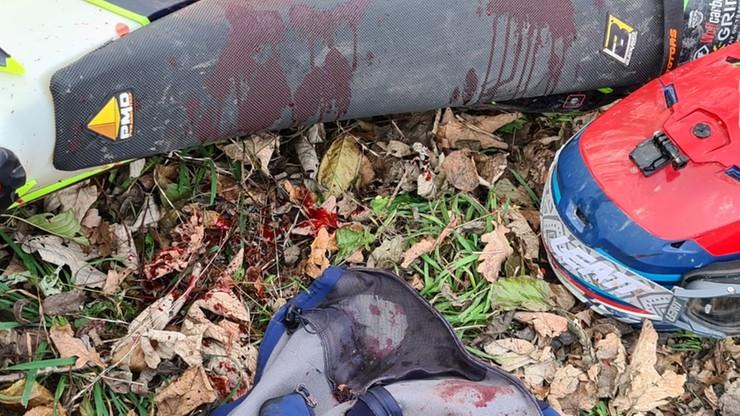 Andrychów: nożownik zaatakował motocyklistę. 21-latek w ciężkim stanie