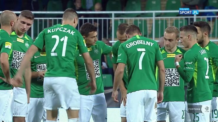 2019-10-19 Nieporozumienie na meczu Warta - Zagłębie. Niespodziewana... minuta ciszy