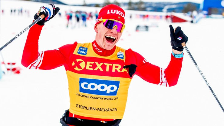 PŚ w biegach: Bolszunow ograł Norwegów. 30. miejsce Burego