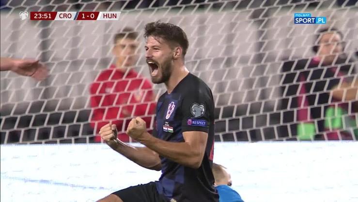 El. Euro 2020: Chorwat koncertowo oszukał bramkarza! Sprytny gol piętą
