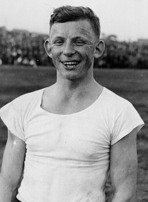 Ernest Wilmowski w 1936 roku